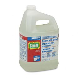 Comet Cleaner with Bleach Liquid 1 Gallon Bottle Carton of 3 (PAG02291CT)