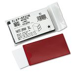 "Slap-Stick Magnetic Label Holders Side Load 4-14"" x 2-12"" Red Pack of 10 (PCIMAGLHRD)"