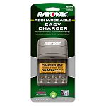Four-Position Battery Charger for AA or AAA NiMH Batt Overnight Charger (RAYPS131E)