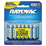 Ultra Pro Alkaline Batteries AAA Pack of 12 (RAY82412CB3TD)