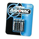Maximum Plus Alkaline Batteries AAA Pack of 4 (RAY8244)