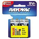 Ultra Pro Alkaline Batteries 9V Pack of 4 (RAYA16044CD)