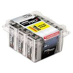 Ultra Pro Alkaline Batteries 9V Pack of 12 (RAYAL9V12)