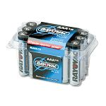 Industrial PLUS Alkaline Batteries AAA Pack of 18 (RAYALAAA18)