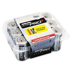 Industrial PLUS Alkaline Batteries C Pack of 12 (RAYALC12)