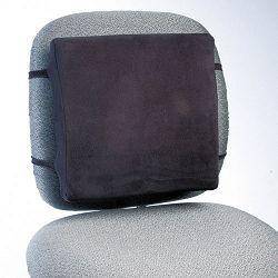 "Back Perch with Fleece Cover 13w x 2-34""d x 12-12""h Black (RCP91060)"