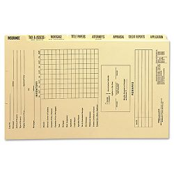 Dividers for Mortgage File Folder EightSet (SMD78278)
