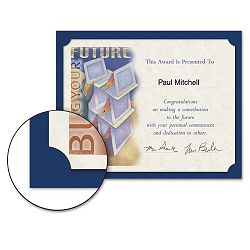 Certificate Holder 12 x 9-12 Navy Pack of 10 (SOUPF8)