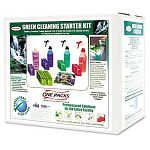 Green Cleaning Starter Kit Pre-Measured 5 Type of Cleaners & Bottles 1 Kit (STNST0849AST)