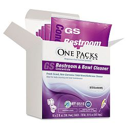 Restroom & Bowl Cleaner Concentrate 2 oz. Packets Box of 10 (STNST0851EST)