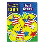 Sticker Book Foil Stars Pack of 1284 (TCR4227)