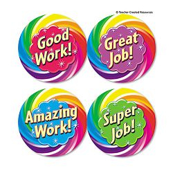 Wear 'Em Badges Good Work Pack of 32 (TCR4498)