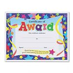 "Certificates of Award 8-12"" x 11"" Pack of 30 (TEPT2951)"
