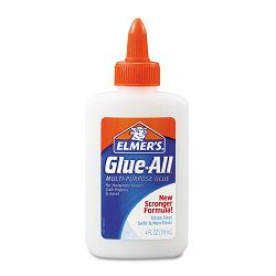 Glue-All White Glue Repositionable 4 oz (EPIE1322)