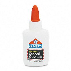 Washable School Glue 1.25 oz Liquid (EPIE301)