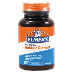 Rubber Cement Repositionable 4 oz (EPIE904)