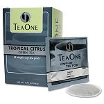 Tea Pods Tropical Citrus Green Box of 14 (JAV20700)