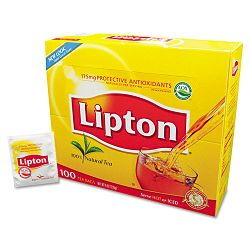 Tea Bags Regular Box of 100 (LIP291)