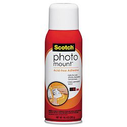 Photo Mount Spray Adhesive 10.25 oz Aerosol (MMM6094)