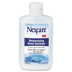 Nexcare Moisturizing Hand Sanitizer 3-oz. Bottle (MMMH9221)