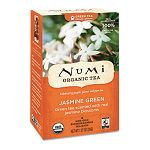 Organic Teas and Teasans 1.27 oz Jasmine Green Box of 18 (NUM10108)
