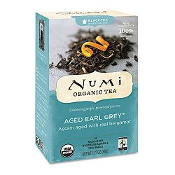 Organic Teas and Teasans 1.27 oz Aged Earl Grey Box of 18 (NUM10170)