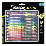 Accent Liquid Pen Style Highlighter Chisel Tip Assorted Set of 10 (SAN24415PP)