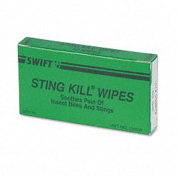 Sting Relief Wipes Refill Box of 10 (ACM51002)