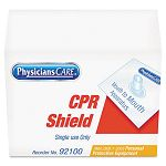 CPR Shield Clear Plastic (ACM92100)