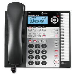 1080 Corded Four-Line Expandable Telephone Caller ID and Answering Machine (ATT1080)