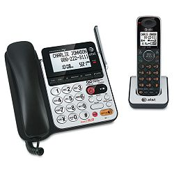 CL84100 CordedCordless DECT 6.0 Phone System with Answering Machine (ATTCL84100)