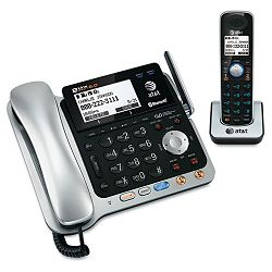 TL86109 Two-Line DECT 6.0 Phone System with Bluetooth (ATTTL86109)