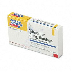 "First-Aid Refill SlingTourniquet Triangular Bandages 40"" x 40"" x 56"" Pack of 10 (FAOAN5071)"