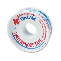 "First Aid Kit Waterproof Tape 12"" x 10 yards White (JOJ5050)"