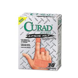 Extreme Hold Bandages Assorted Sizes Box of 30 (MIICUR14924)