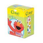 "Kids Adhesive Bandages Sesame Street 34"" x 3"" Box of 100 (MIINON47070)"