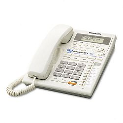 Intercom Speakerphone wCaller ID Corded Two Lines White (PANKXTS3282W)