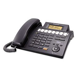 KX-TS4200B Integrated Phone System Corded Four Lines Black (PANKXTS4200B)