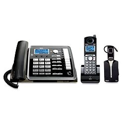 ViSYS 25270RE3 Two-Line CordedCordless Phone System with Cordless Headset (RCA25270RE3)