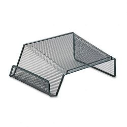 "Mesh Telephone Desk Stand 10 18"" x 10 58"" x 4 78"" Black (ROL22151)"