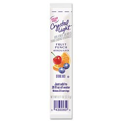 On the Go Fruit Punch .16 oz Packets Box of 30 (CRY00006)