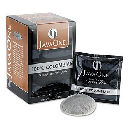 Coffee Pods Colombian Supremo Single Cup Box of 14 (JAV30200)
