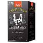 Coffee Pods Hazelnut Cream (Hazelnut) 18 PodsBox (MLA75410)