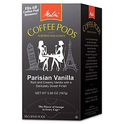 Coffee Pods Parisian Vanilla 18 PodsBox (MLA75411)
