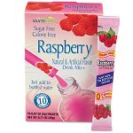 Flavor Stix for Bottled Water Sugar-Free Raspberry .07 oz Box of 10 (OFX02723)
