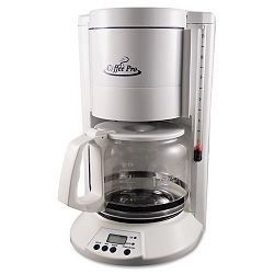 HomeOffice 12-Cup Coffee Maker White (OGFCP330W)