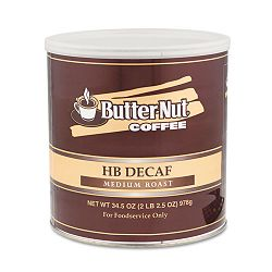 HB Decaf Coffee Medium Roast Decaffeinated 39 oz can (SFD50771)