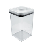 Good Grips Pop Container Square 4 Quart WhiteClear (OXO1071396)