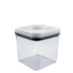 Good Grips Pop Container Square 2.4 Quart WhiteClear (OXO1071399)