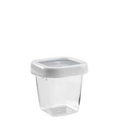Good Grips LockTop Container Small Square 2.5 cup WhiteClear (OXO1117680)